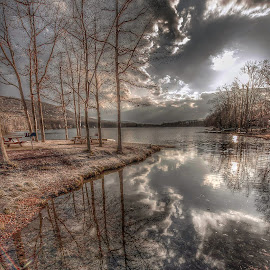 Darkening Skies by Diane Ljungquist - Landscapes Cloud Formations ( relax, tranquil, relaxing, tranquility,  )