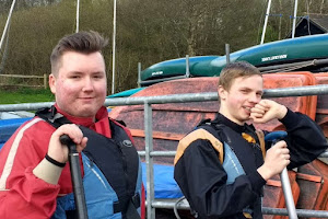 YACs enjoying canoeing on a residential weekend