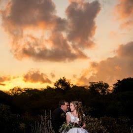 Sunset by Lodewyk W Goosen (LWG Photo) - Wedding Bride & Groom ( wedding photography, wedding photographers, wedding day, weddings, wedding, bride and groom, wedding photographer, bride, groom, bride groom )