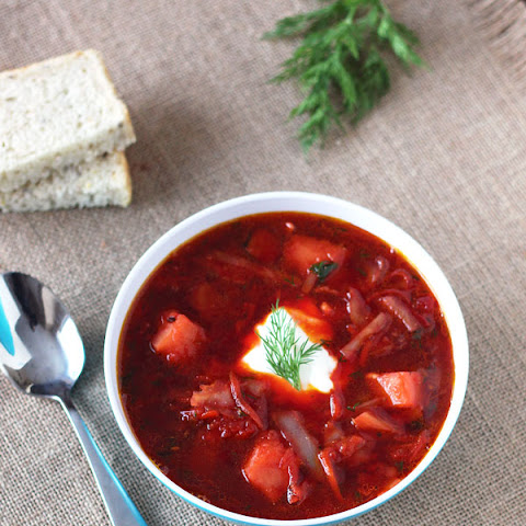 Borscht – Cabbage Beet Soup
