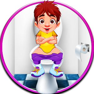 Download free kids toilet game : Potty Training in school
