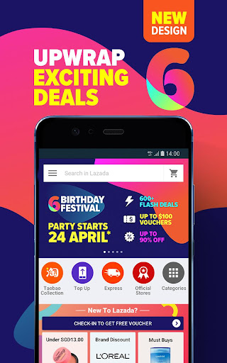 Lazada - Online Shopping & Deals screenshot 1