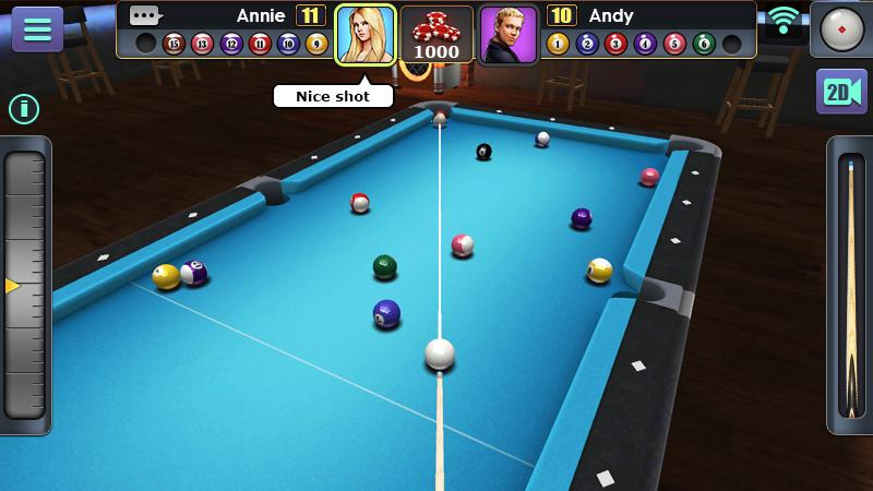 3D Pool Ball Screenshot 4