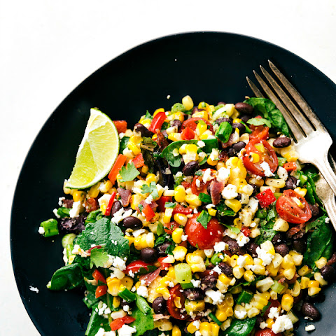 Grilled Bacon Corn Salad