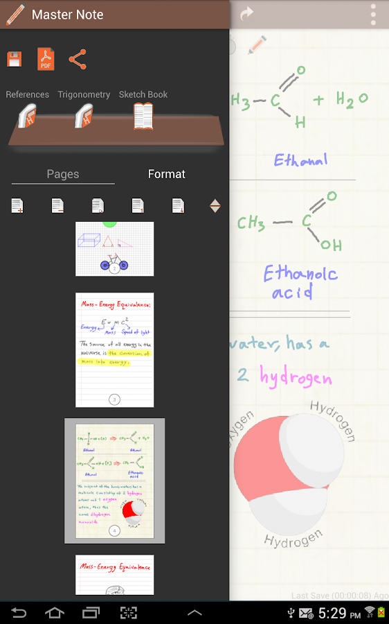 Master Note: Handwriting Notes Screenshot 8