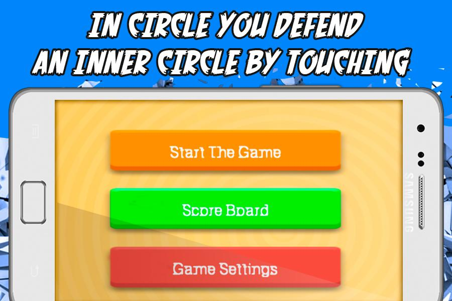 Attack on a Circle Screenshot