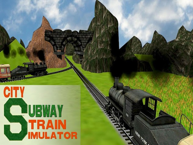 City Subway Train Simulator 3D Screenshot
