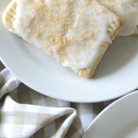 Bananas Foster Pop Tarts