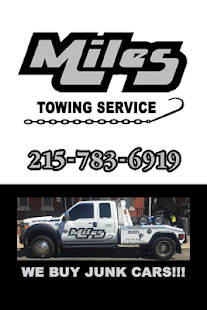 Miles Towing Service - screenshot