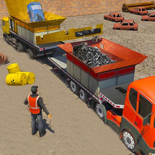 Junk Car Crusher Crane Driver (game)