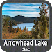 Arrowhead Lake Sac - IOWA Map Icon