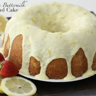 Buttermilk Pound Cake With Glaze Recipes