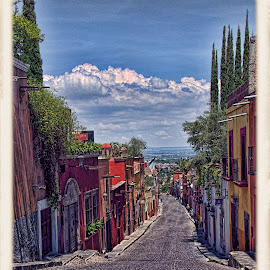 san miguel de allende, mexico by Jim Knoch - Buildings & Architecture Homes