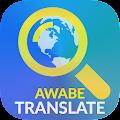 Awabe Translate Languages