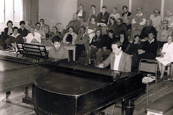 Teaching Iain Burnside (now one of Britain's finest Accompanists), Dartington, 1982 (2)