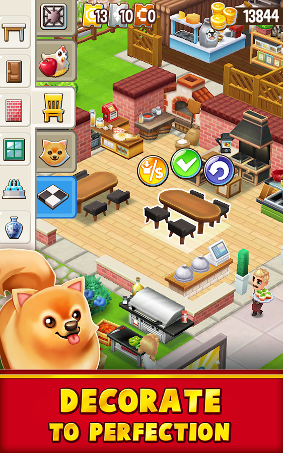 Food Street - Restaurant Management & Cooking Game Screenshot 14