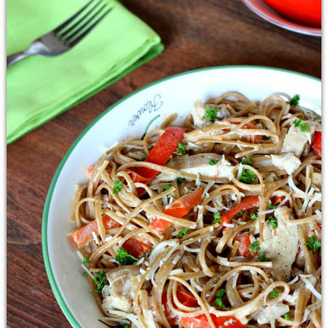 Slow Cooker Creamy Cajun Chicken Pasta
