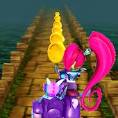 Adventure Shimmer Princess Run APK for Bluestacks