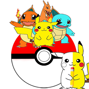 Draw Pikatchu & His Friends