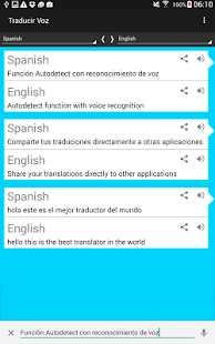 English – Spanish. Translator