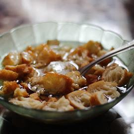 We called it Bubur Gunting by Agung Novriyandi - Food & Drink Eating ( indonesia, food, traditional, singkawang, chinese )