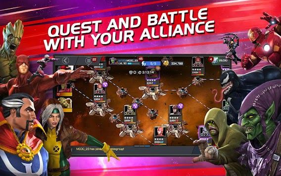MARVEL Contest Of Champions APK screenshot thumbnail 5