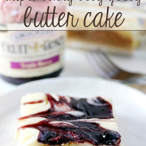 Triple Berry Ooey Gooey Butter Cake