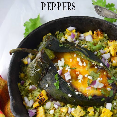 Black Beans Stuffed Peppers