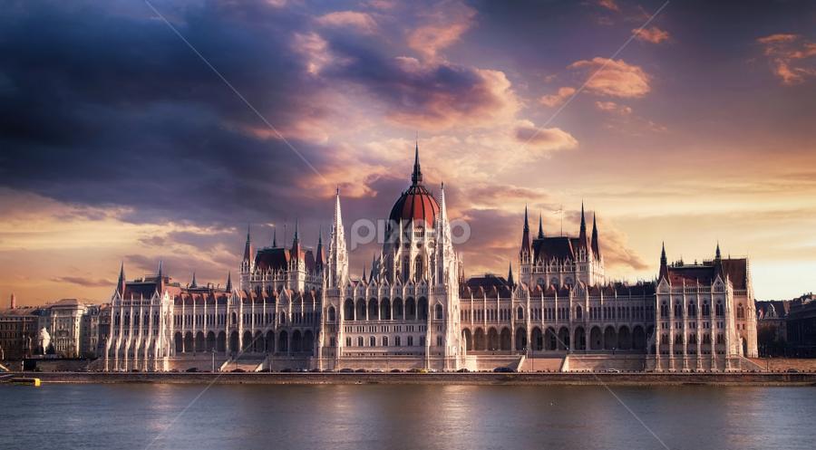 Budapest  by Marios Mihalovits - Buildings & Architecture Architectural Detail ( sky, architecture, city )