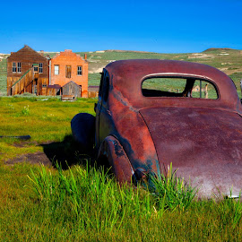 Bodie 12 by Richard Duerksen - Transportation Automobiles ( ca, ghosts, ghost town, bodie, antique )