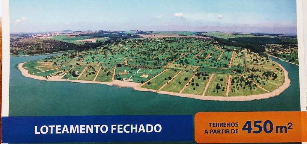 #Terreno a Venda Terras de Sta Cristina V