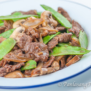 Asian Beef with Mushroom