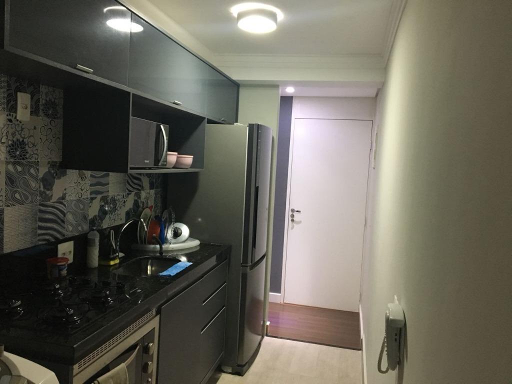 Apartamento residencial à venda, Residencial Parque da Fazen...