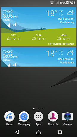 Xperia Weather 1.3.A.1.19 (Mod All Devices) APK