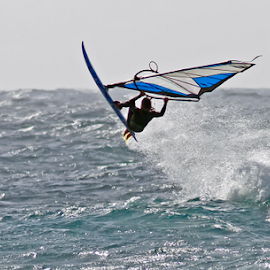 In the Air! by Ian Fearn - Sports & Fitness Surfing