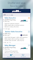 Screenshot of jobsDB Job Search