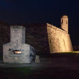 Castillo de San Marcos National Monument by Robert Sellers - Buildings & Architecture Public & Historical ( castillo de san marcos, park, national )