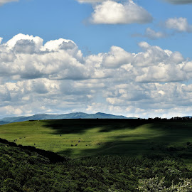Cloudy by Marton Rakhel - Landscapes Cloud Formations ( clouds, life, blue, weather, summer )