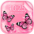 Free Pink Butterfly Live Wallpaper APK for Windows 8