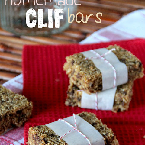 Homemade Clif® Bars