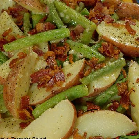 Green Bean & Potato Salad with Dijon Vinaigrette