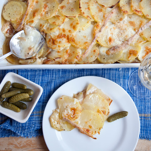 Cheese, Potatoes, Bacon, Go! It's A Taleggio Tartiflette Recipe.
