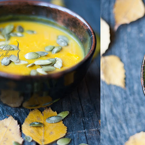 Pumpkin Soup With Turmeric