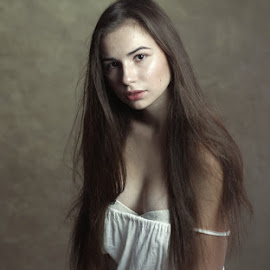 *** by Valentyn Kolesnyk - People Portraits of Women