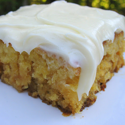 Monday- Miss Susan's Pineapple Sheet Cake