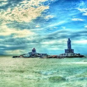 ::...Kanyakumari...:: by Avinash Lodhi - Buildings & Architecture Places of Worship ( temple, statue, avi, india, worship )
