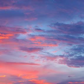 Colour Cloud by Ahmat Supriyadhi - Landscapes Cloud Formations ( colour, sky, sunset, cloud,  )