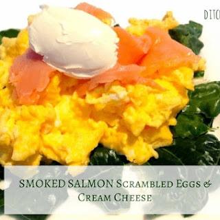 Salmon Scrambled Eggs Cheese Recipes