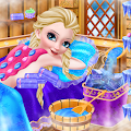 Icy Queen Spa Makeup Party APK for Bluestacks