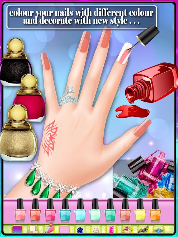 Wedding Nail Art Salon Screenshot